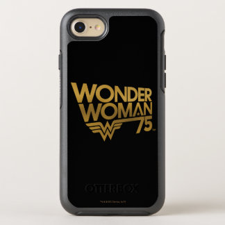Wonder Woman 75th Anniversary Gold Logo OtterBox Symmetry iPhone 8/7 Case
