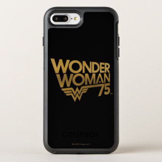 Wonder Woman 75th Anniversary Gold Logo OtterBox Symmetry iPhone 8 Plus/7 Plus Case