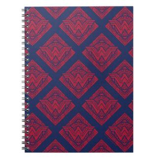 Wonder Woman Amazonian Symbol Notebook