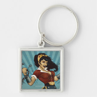 Wonder Woman Amazonians Unite Vintage Poster Key Ring