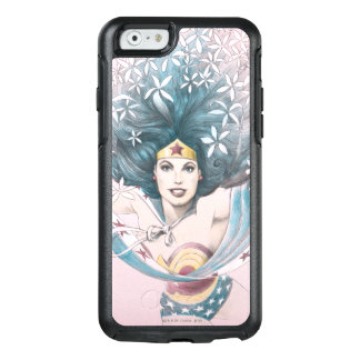 Wonder Woman and Flowers OtterBox iPhone 6/6s Case