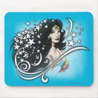 Wonder Woman and Stars Mouse Mat