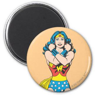 Wonder Woman Arms Crossed Magnet