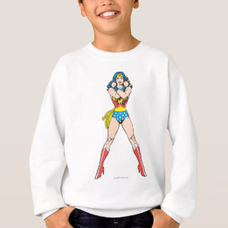 Wonder Woman Arms Crossed Sweatshirt