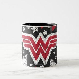 Wonder Woman Arrows Two-Tone Mug