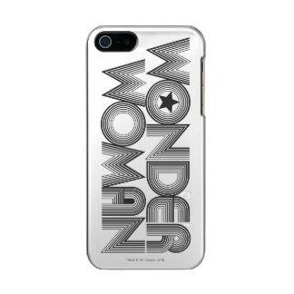 Wonder Woman B&W Logo 3 Incipio Feather® Shine iPhone 5 Case