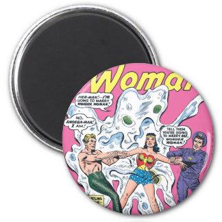 Wonder Woman Battle Prize 6 Cm Round Magnet