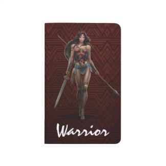 Wonder Woman Battle-Ready Comic Art Journals