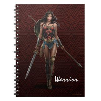 Wonder Woman Battle-Ready Comic Art Notebooks