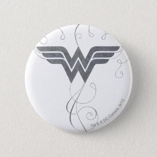 Wonder Woman | Beauty Bliss Logo 6 Cm Round Badge