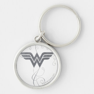 Wonder Woman | Beauty Bliss Logo Key Ring