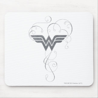 Wonder Woman | Beauty Bliss Logo Mouse Mat