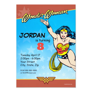 Wonder Woman Birthday Card
