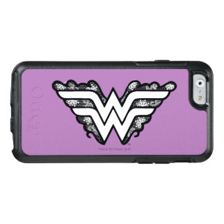 Wonder Woman Black Lace Logo OtterBox iPhone 6/6s Case