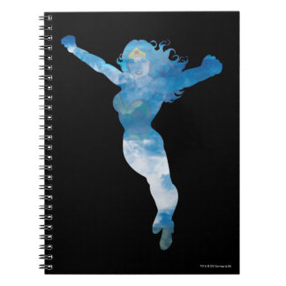 Wonder Woman Blue Sky Silhouette Notebooks