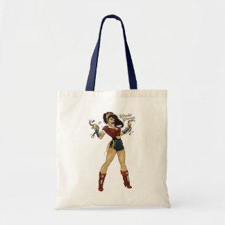Wonder Woman Bombshell Budget Tote Bag