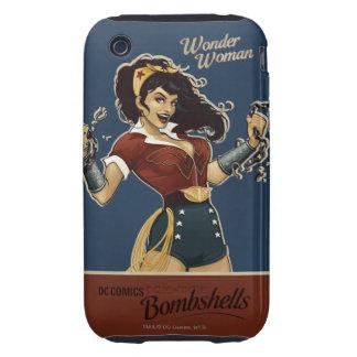 Wonder Woman Bombshell iPhone 3 Tough Case