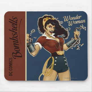 Wonder Woman Bombshell Mouse Pad