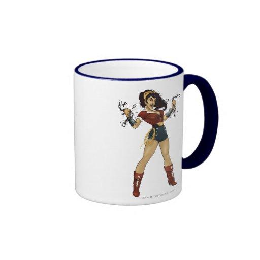 Wonder Woman Bombshell Coffee Mugs