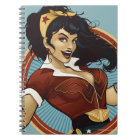 Wonder Woman Bombshell Name Graphic Notebook