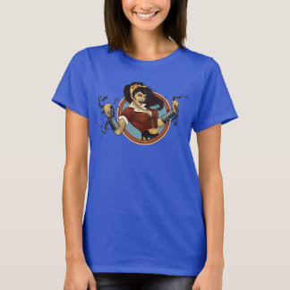 Wonder Woman Bombshell Name Graphic T-Shirt