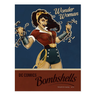 Wonder Woman Bombshell Postcard