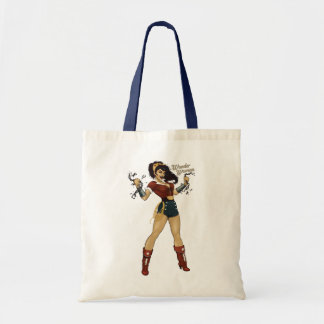 Wonder Woman Bombshell Tote Bag