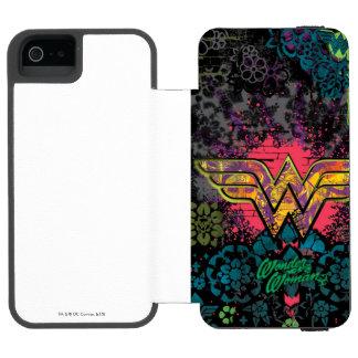 Wonder Woman Brick Wall Collage Incipio Watson™ iPhone 5 Wallet Case
