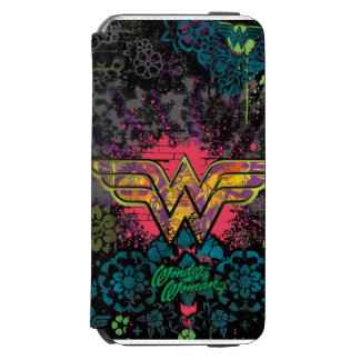 Wonder Woman Brick Wall Collage Incipio Watson™ iPhone 6 Wallet Case