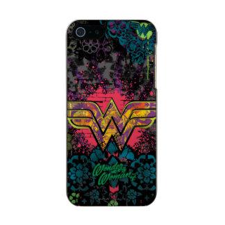 Wonder Woman Brick Wall Collage Incipio Feather® Shine iPhone 5 Case