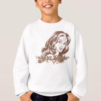 Wonder Woman Brown Sweatshirt