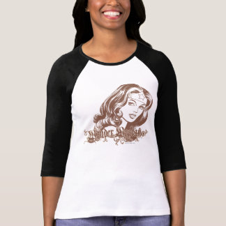 Wonder Woman Brown T-Shirt