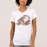 Wonder Woman Brown Tee Shirts
