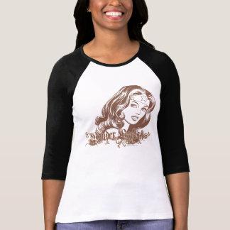 Wonder Woman Brown Shirts