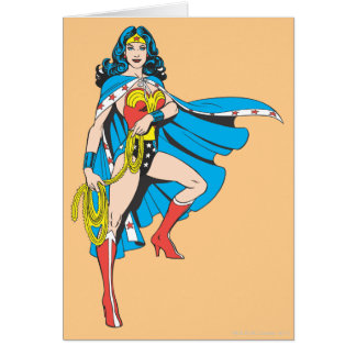Wonder Woman Cape Card