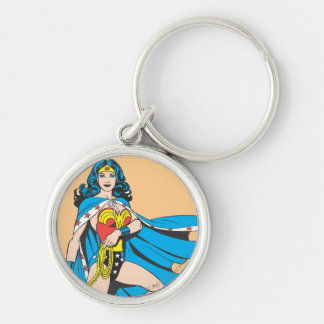 Wonder Woman Cape Key Ring