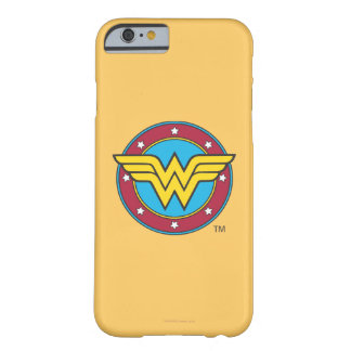 Wonder Woman | Circle & Stars Logo Barely There iPhone 6 Case