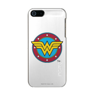 Wonder Woman | Circle & Stars Logo Incipio Feather® Shine iPhone 5 Case