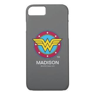 Wonder Woman | Circle & Stars Logo iPhone 8/7 Case