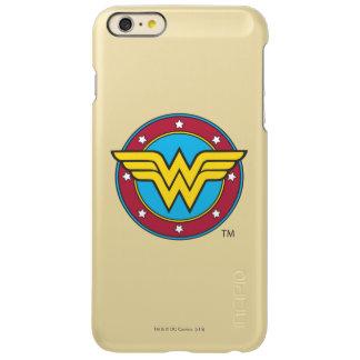 Wonder Woman Circle & Stars Logo iPhone 6 Plus Case