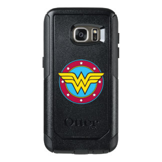 Wonder Woman | Circle & Stars Logo OtterBox Samsung Galaxy S7 Case