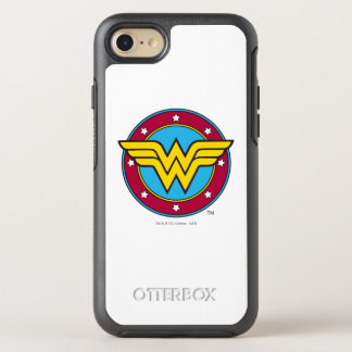 Wonder Woman | Circle & Stars Logo OtterBox Symmetry iPhone 8/7 Case