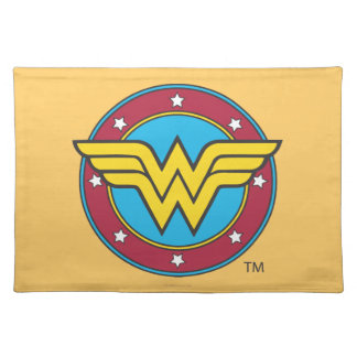 Wonder Woman | Circle & Stars Logo Placemat