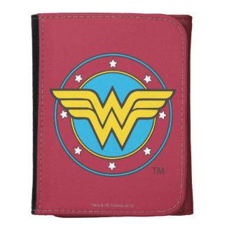 Wonder Woman Circle & Stars Logo Wallets
