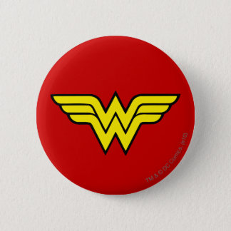 Wonder Woman | Classic Logo 6 Cm Round Badge