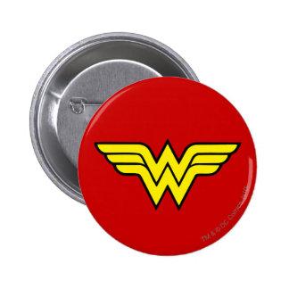 Wonder Woman | Classic Logo 6 Cm Round Badge