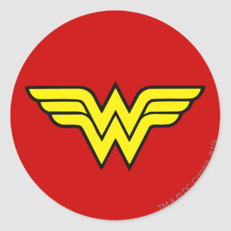 Wonder Woman | Classic Logo Classic Round Sticker