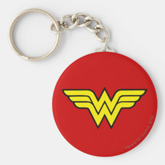 Wonder Woman | Classic Logo Key Ring