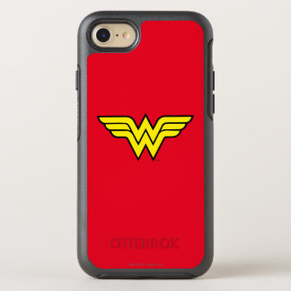 Wonder Woman | Classic Logo OtterBox Symmetry iPhone 8/7 Case