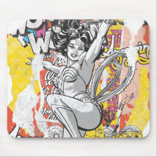 Wonder Woman Collage 1 Mouse Pad